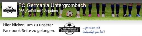 FC Untergrombach Facebook-Seite